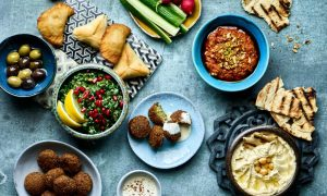 Chef Vered Guttman shares seven dishes to celebrate Israeli Independence Day: one for each decade of the country's history.