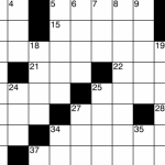 Moment Crossword: Funny Business