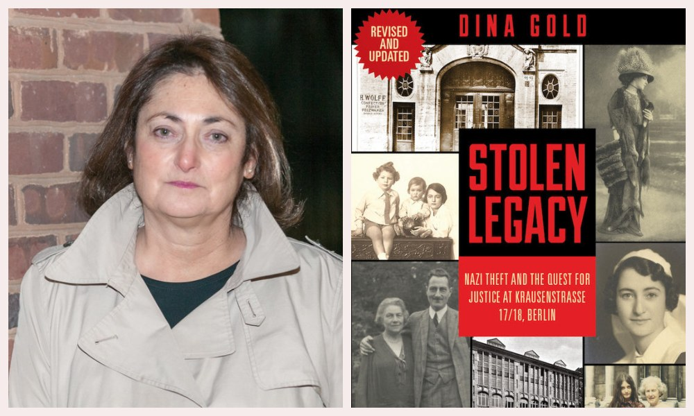 Moment Zoominar: Stolen Legacy—Nazi Theft and the Quest for Justice with Dina Gold