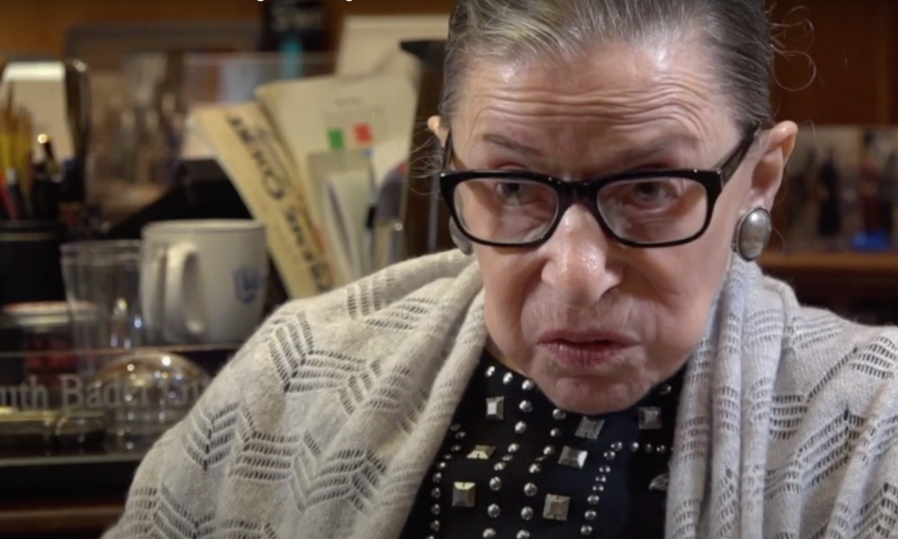 Exclusive Video: What Ruth Bader Ginsburg Said About Voting