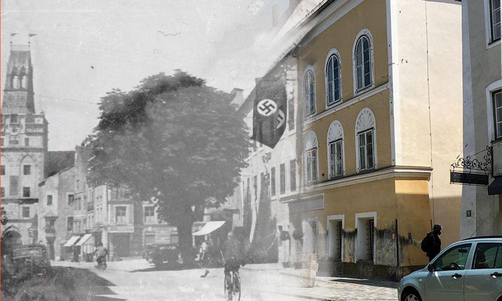 Hitler-Haus, Vorstadt 15, birthplace of Adolf Hitler