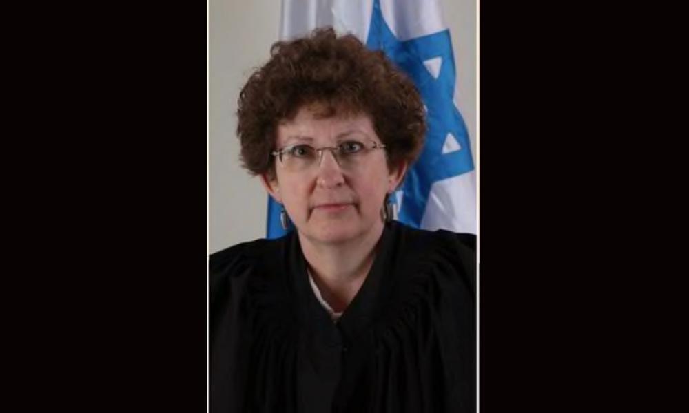 The Israeli judge presiding Bibi Netanhayu's trial is Justice Rivka Friedman-Feldman.