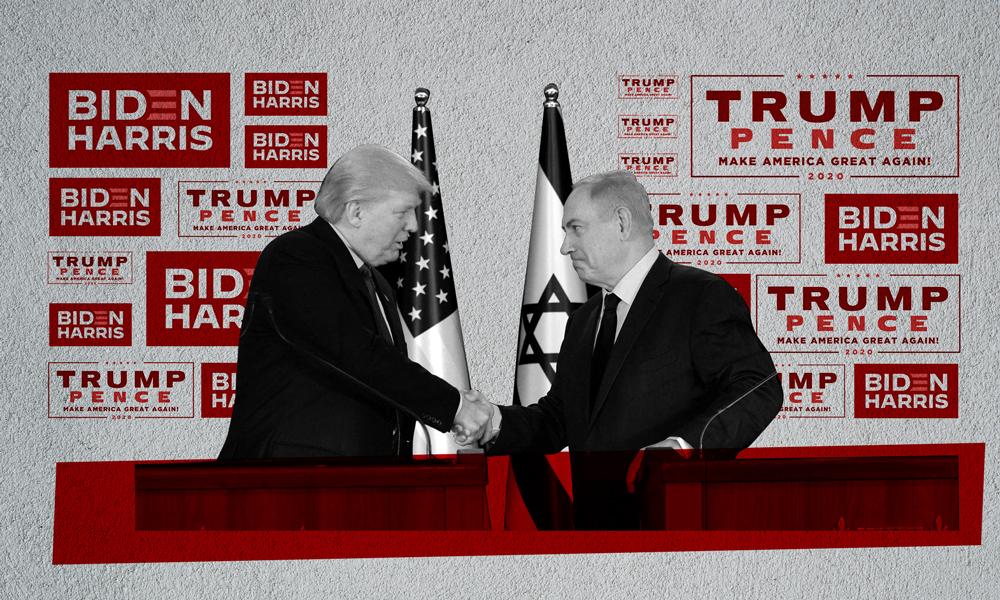 Donald Trump and Bibi Netanyahu
