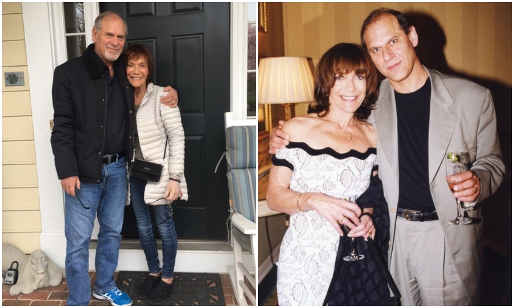 Larry Miller and his beshert in 2020 and 2008