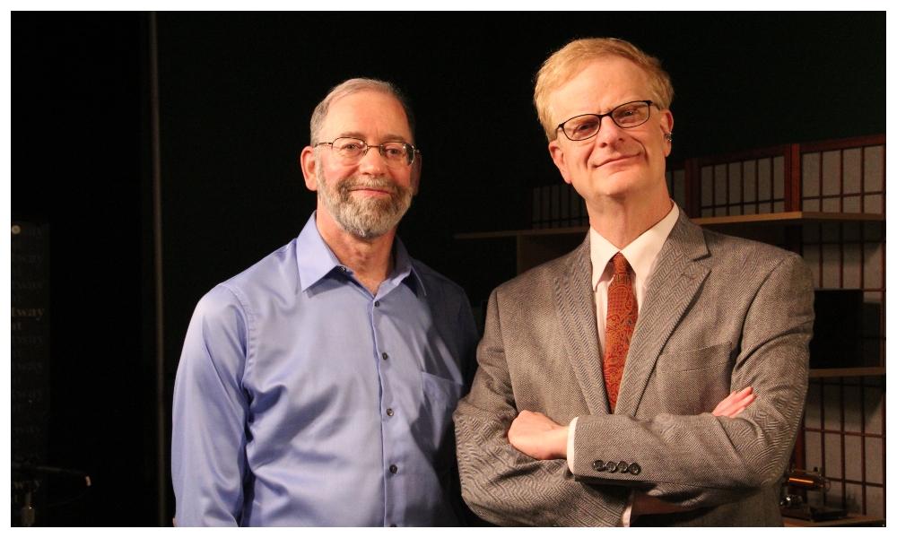 Television historians Walter J. Podrazik and Harry Castleman.